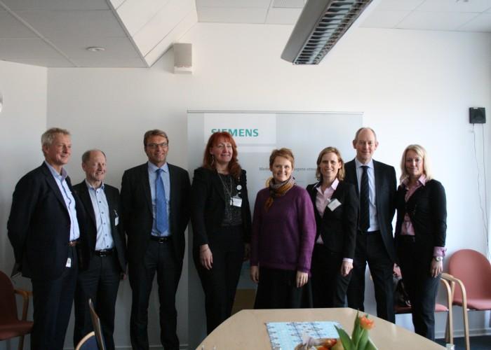 Sveriges It- och Energiminister besökte Väsby