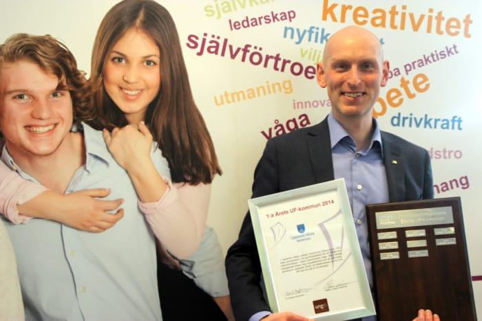 Pressmeddelande: Upplands Väsby bäst på entreprenörskap i skolan!
