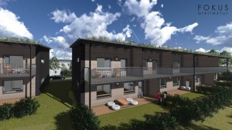Energisnåla hyreslägenheter när Bo i Väsby bygger nytt