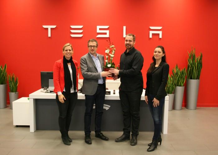 Välkommenbesök hos Tesla Motors – 5 december