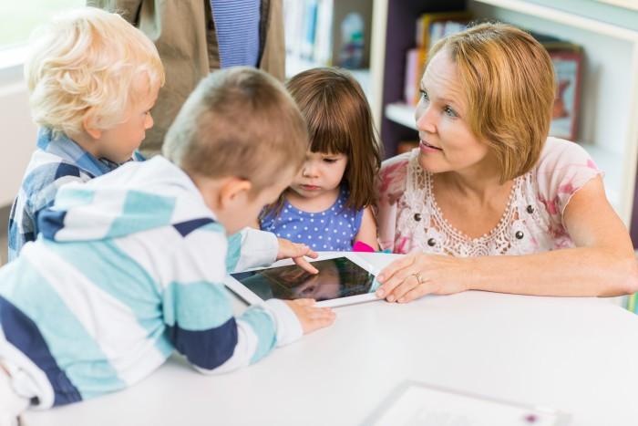 Väsby satsar på stark skola och utvecklar en ny app för språkutveckling och matematik