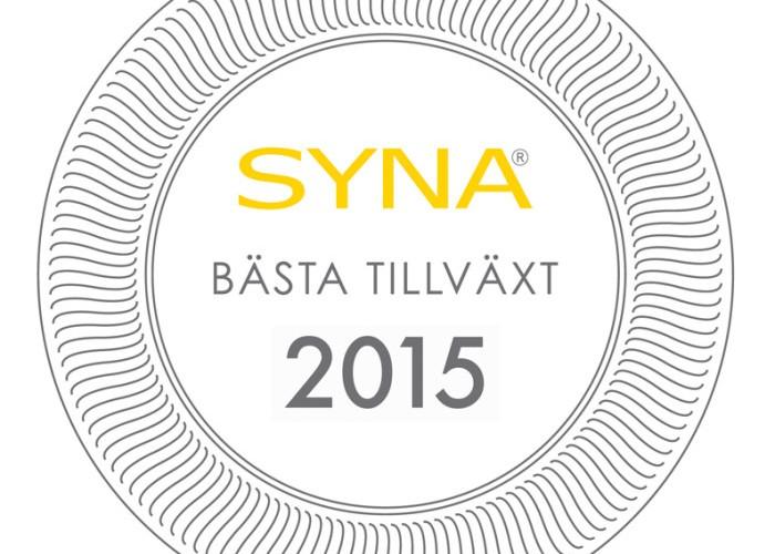 Väsby på andra plats i Bästa Tillväxt 2015