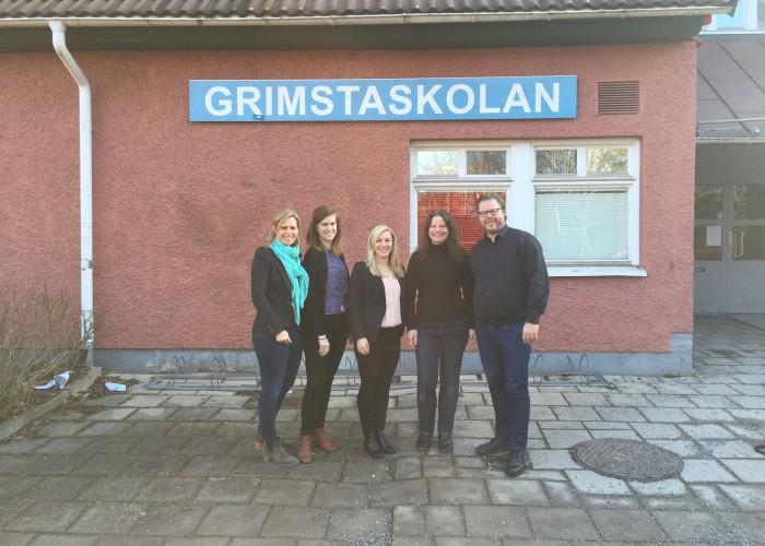 Näringslivet inspirerar och stärker elever i Väsby