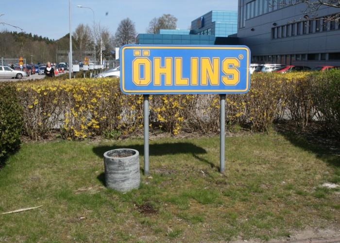 Företagsbesök hos Öhlins Racing
