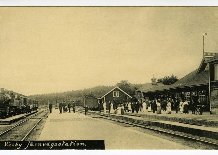 Väsby Station firas med familjedag