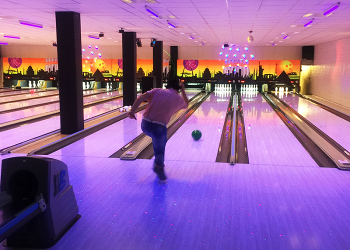 Årets första After Work med bowling – vilken succé