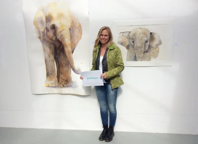 Väsby Konsthalls Akvarellstipendium 2017