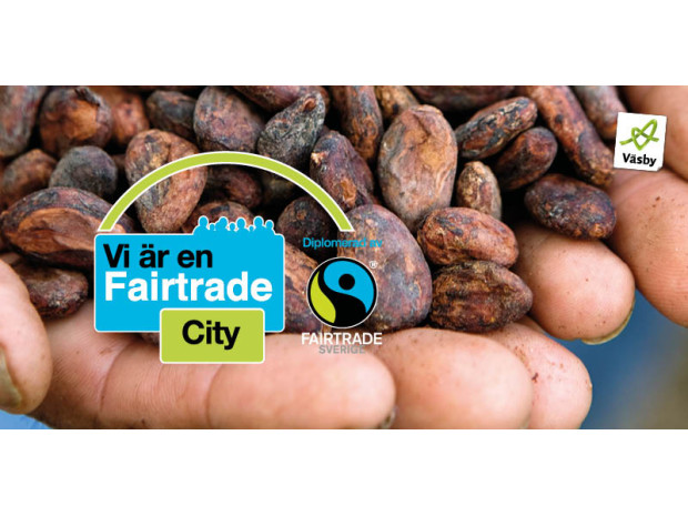 Upplands Väsby blir en Fairtrade City