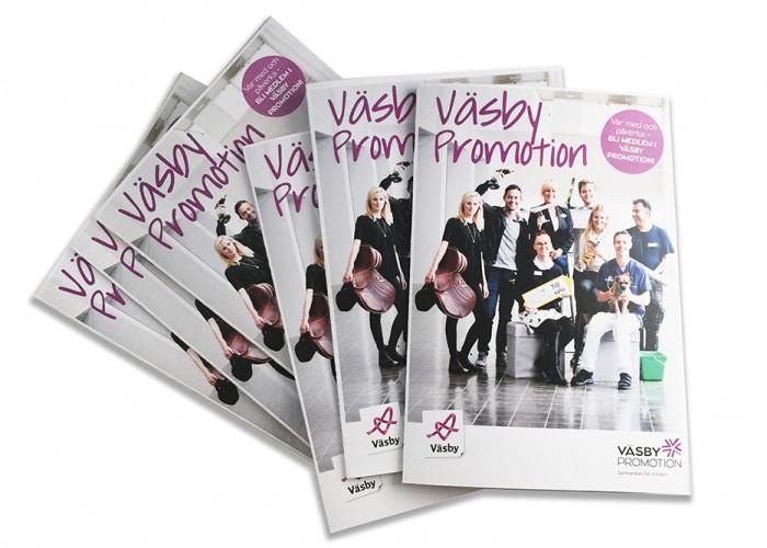 Väsby Promotion lanserar ny medlemsfolder