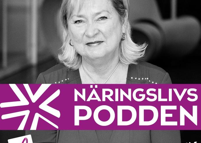 #16 Gunilla Ridström Så grundades Väsby Promotion för 20 år sedan – Näringslivspodden