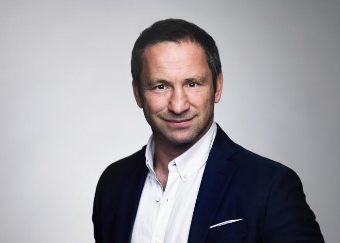 Paolo Roberto talar på Väsby Promotions årsmöte
